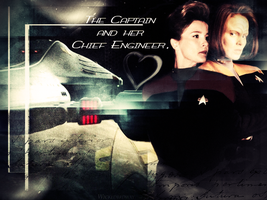 Voyager's two leading ladies by Wickedbrdway
