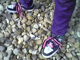 River Stones and Big Shoes by The-OxyG