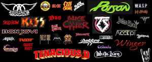 My Metal Collage by KISSfan4ever