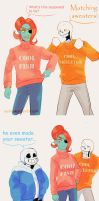 Undertale comic: Undyne`s sweater by atomicheartlight
