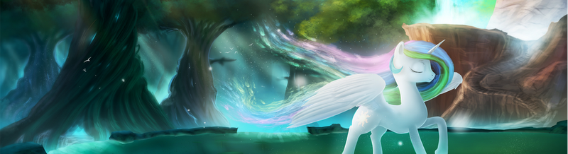 Rain-Gear: Serenity (Two screen wallpaper) by thepoopingcow
