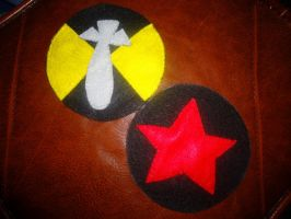 2P!America Cosplay Patches by MaplePucks