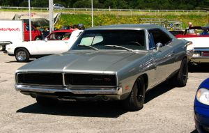 silver '69 charger III by AmericanMuscle
