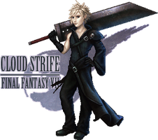 Cloud Strife by lithriel