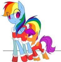 Renbur And Scute By Migit244o-d88opad by icedragoncaptive
