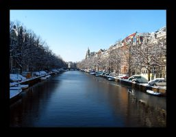 Amsterdam Canal by devildevine