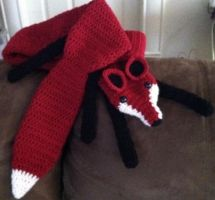 Dark Red Fox, completed with Eyes by Arexandria