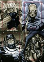 Marvel 70th Sketch Cards -k by RichardCox