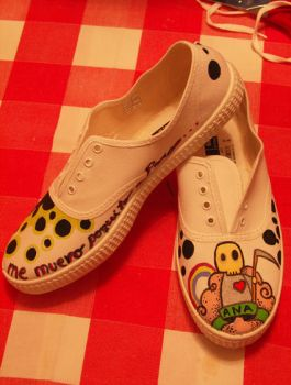 Little Death shoes by malditadivinidad