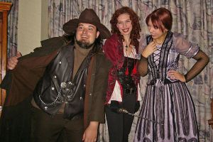 Van Helsing, Anna and Violet by FaesFashions