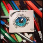 Blue eye by LifeIsSucking