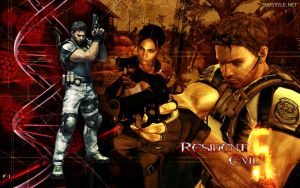 Resident Evil 5 Wallpaper No.1 by F-1