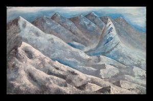 Mountains by RedHand