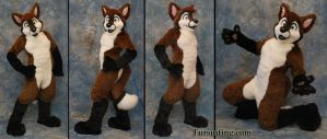 Felix the Fox Fursuit! by FelixTheFurryFox