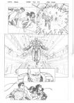 Justice League sample page 3 by MarkReindeer