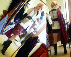 WIP 2 Lightning cosplay ff13 by Sujun