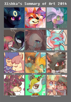 2014 Art Summary by Xishka