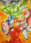 The Avengers by mangakris