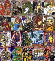 Marvel Masterpiece AP Cards by mainasha