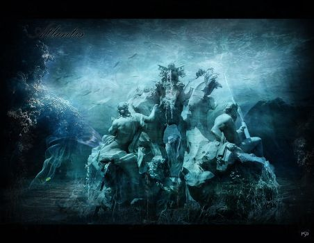 The guards of the Atlantis by ThyC-Graphics