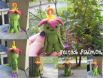 Felted Palmon by xxNostalgic