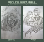 Meme: Before and After by kocurkowa