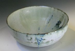pale blue and green bowl by ghostgray