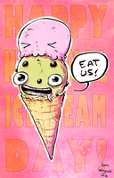Icecream Day! by bensigas