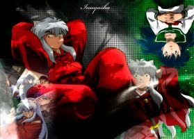 The many sides of Inuyasha by Edward-Elric-FMA