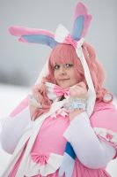Sylveon Cosplay by HachimitsuMimi