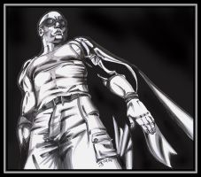 Riddick BlacknWhite by wiccawitch