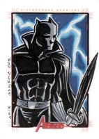Avengers Sketch Card Set 5 by mainasha