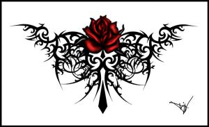 Flower Lower Back Rose Tattoo Designs Picture 9