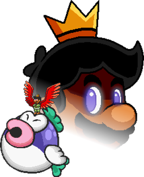 Super Mario Bros. X - The King's Wrath by Legend-tony980