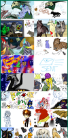 iScribble Dump IV by mirzers