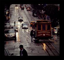 California St. cablecar stop by rattitude