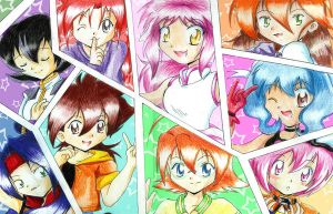 Beyblade girls by I-Am-Bleu