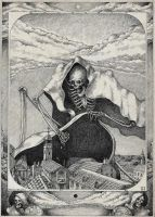 #death #skeleton III by AC44