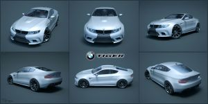 BMW Tiger - Concept 9 by cipriany