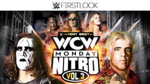 WWE First Look - WCW Monday Nitro Vol.3 Logo by Wrestling-Networld