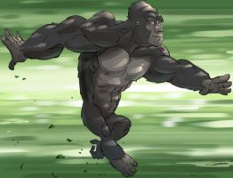 Gorilla jump good by Gilmec