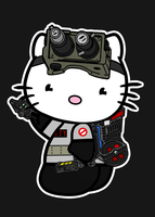 Hello Kitty as a Ghostbuster by GhostbustersNews