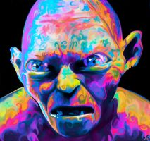 Gollum by NickyBarkla