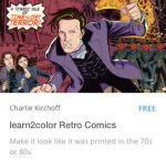learn2color Retro Comics by CharlieKirchoff