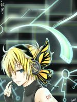 Kagamine Len - Magnet vers by allenerie