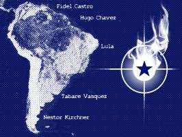 Leftwing of South America by RadicallyPoetic