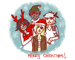Merry Christmas! by LilyScribbles