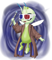 Doctor Who X Pokemon: Tenth Celibi by Defy-Gravity-42
