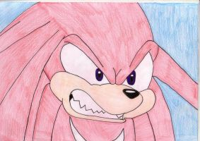 knuckles. by rebemci