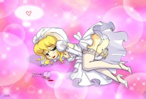 Happy Bride by PigeonKill